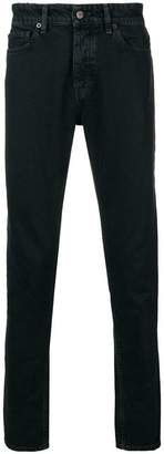IRO faded slim-fit jeans