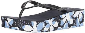 Armani Exchange A|X Women's Wedge Flip Flops Sandal