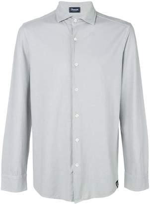 Drumohr cutaway collar shirt