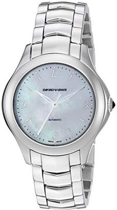 Emporio Armani Swiss Made Women's 'Esedra Lady Auto Watch' Swiss Automatic Stainless Steel Casual
