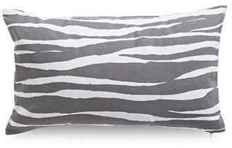 Kate Spade Zebra-Printed Square Cotton Pillow