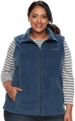 Columbia Plus Size Three Lakes Fleece Vest