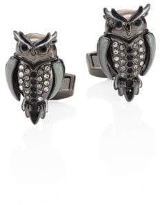 Tateossian Mechanimal Animal Owl Design Cufflinks