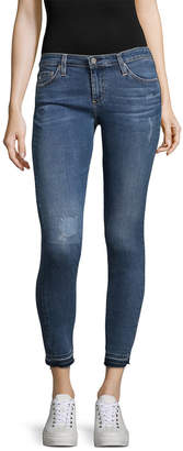 AG Jeans Adriano Goldschmied Distressed Denim Legging