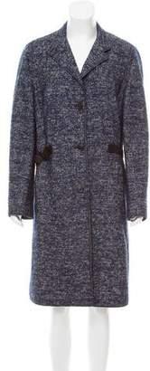 Akris Punto Plaid Long Coat