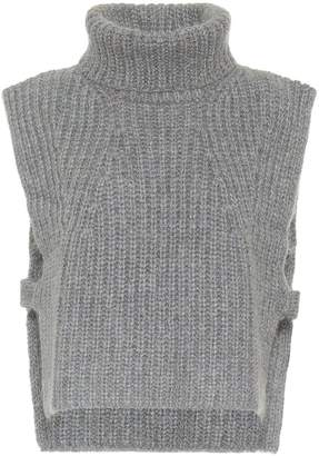 Etoile Isabel Marant Isabel Marant, étoile Megan wool-blend sleeveless sweater