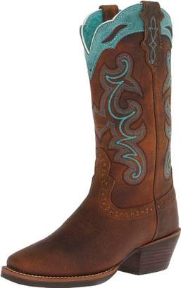 Justin Boots Women's Stampede Sliver Collection