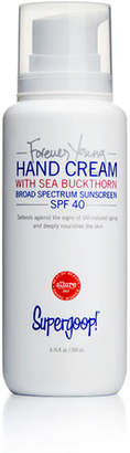 Supergoop! Forever Young Hand Cream SPF 40, 6.7 oz./ 200 mL
