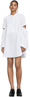 BCBGMAXAZRIA Miley Long-Sleeve Striped Dress