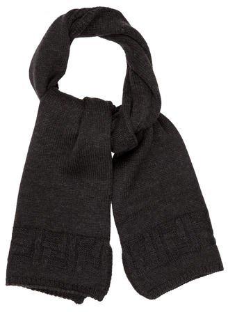 Fendi Zucca Wool Stole