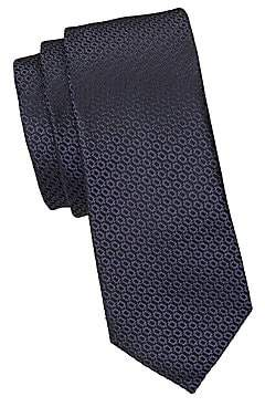 Ermenegildo Zegna Men's Chain Print Silk Tie