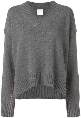 Paul Smith Black Label stitching detail jumper