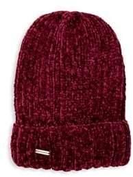 Steve Madden Chenille Knit Beanie