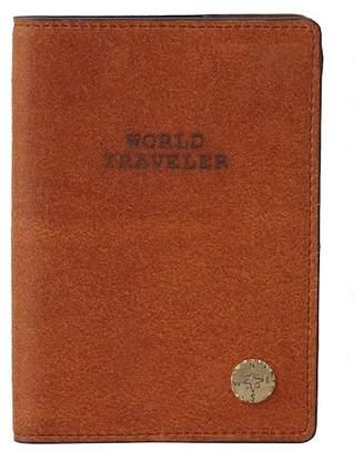 Most Wanted USA World Traveler Leather Passport Holder