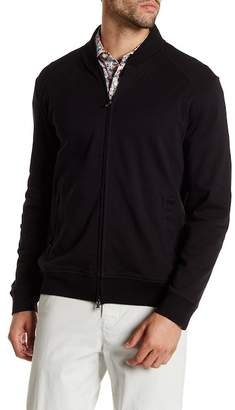 Robert Graham Castle Full Zip Knit Sweater