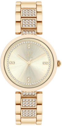 INC International Concepts I.n.c. Women's Pave Bracelet Watch 32mm, Created for Macy's