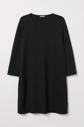 H&M H&M+ Jersey Dress - Black