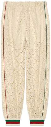 Gucci Flower lace jogging pant