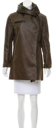 Sam Edelman Vegan Leather Short Jacket w/ Tags