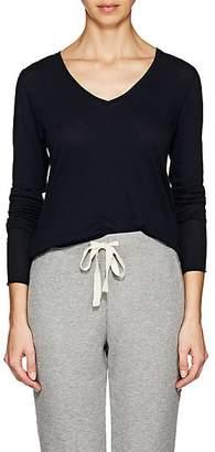 Skin Women's Organic Cotton Long-Sleeve T-Shirt - Navy
