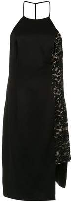 Tufi Duek lace panel dress