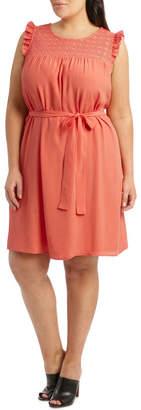 Lace Detail Sless Dress