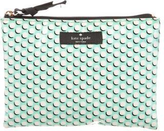 Kate SpadeKate Spade New York Circular Logo Cosmetic Bag