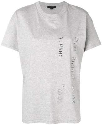Alexander Wang logo T-shirt