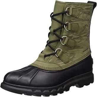 Sorel Men''s Portzman Classic Camo Snow Boots,40.5 EU