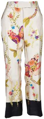 True Royal Sylvie Floral Trousers
