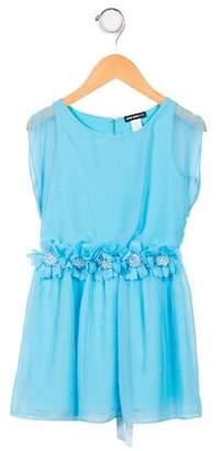 David Charles Girls' Sleeveless Dress