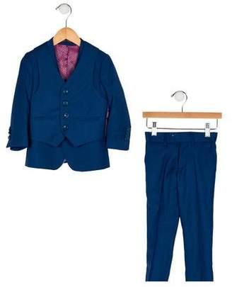 Isaac Mizrahi Boys' Three-Piece Suit Set