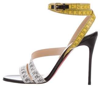 Christian Louboutin Police 100 Sandals