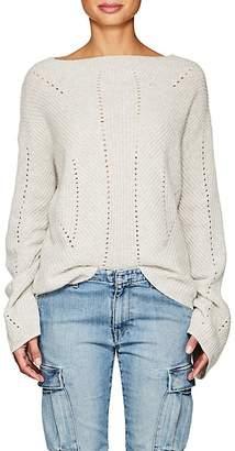 Nili Lotan Women's Leyton Rib-Knit Cashmere Sweater