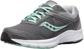 Saucony Women's Cohesion 10 Running Shoe, Grey/Tea/Ct