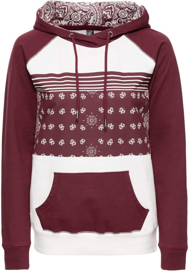 Sweatshirt mit Paisley-Muster