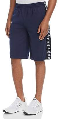 Kappa Treadwell Logo-Striped Shorts