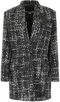 IRO Single Breasted Knitted Coat