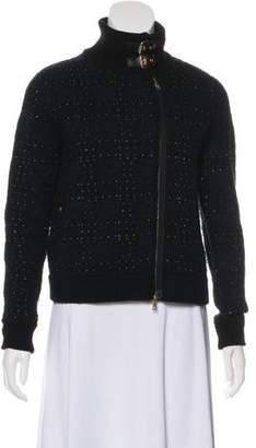 3.1 Phillip Lim Heavy Knit Zip-Up Jacket