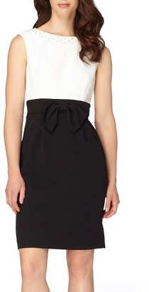 Women's Tahari Embellished Sheath Dress $118 thestylecure.com