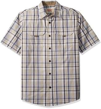 Wrangler Men's Authentics Short Sleeve Canvas Shirt