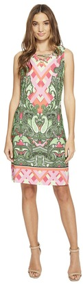 Christin Michaels - Mordred Lace Shift Dress Women's Dress $69 thestylecure.com