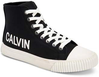 Calvin Klein Jeans Logo High-Top Sneakers