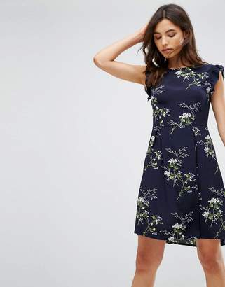 B.young Ruffle Sleeve Dress