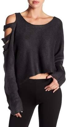 Maac London Knit Cutout Sleeve Shirt