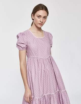 493461d34cc Batsheva Empire Dress in Lavender Floral