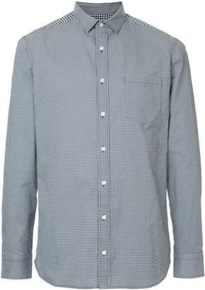 Kolor gingham check shirt