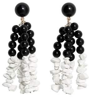 MANGO Stones earrings