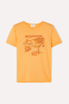 Solid & Striped + Re/done Woodstock Printed Cotton T-shirt