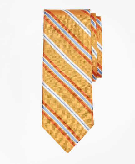 Brooks Brothers Alternating Split Stripe Tie
